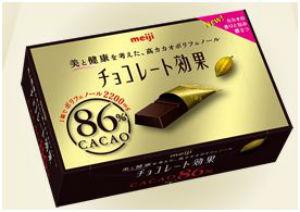 明治,チョコレート効果カカオ